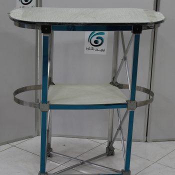 IMG 4546 350x350 - میز کانتر ، میز کانتر نمایشگاهی ، کانتر نمایشگاهی ، طراحی کانتر ، میز کانتر یک نفره ، قیمت میز کانتر نمایشگاهی