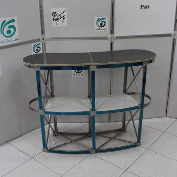 IMG 4559 350x350 - میز کانتر ، میز کانتر نمایشگاهی ، کانتر نمایشگاهی ، طراحی کانتر ، میز کانتر یک نفره ، قیمت میز کانتر نمایشگاهی