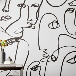 drop it modern femme removable wallpaper c 300x300 - چاپ کاغذ دیواری - چاپ با دستگاه اکوسالونت